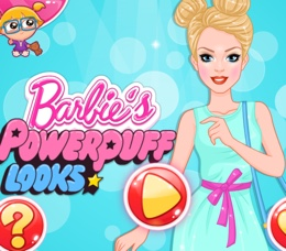 Barbie'nin Powerpuff Stili
