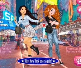 Merida Ve Pocahontas New York'da