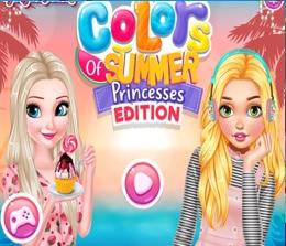 Prensesler İle Renkli Bir Yaz