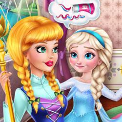 Afacan Elsa Ve Güzel Bakıcısı