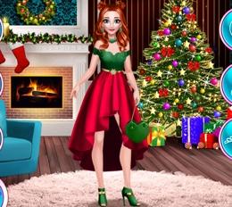Anna'nın Tasarım Yılbaşı Elbisesi