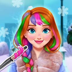 Annanın Çılgın Kış Saçları