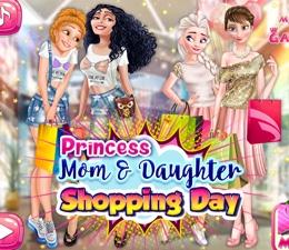 Anneler Ve Kızları Alışveriş Günü