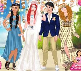 Ariel'in Coachella Tarzı Düğünü