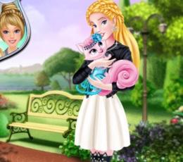 Aurora Ve Tatlı Kedisi