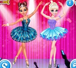 Balerin Elsa Ve Moana