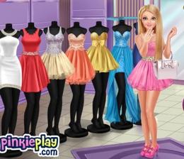 Barbie Abiye Alışverişinde
