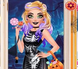 Barbie Cadılar Bayramı Partisinde