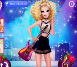 Barbie Güzel Rocker