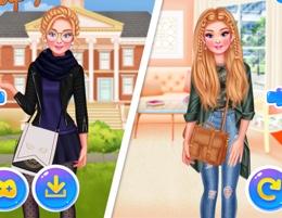 Barbie İle Kankası Çalışkan Ve Havalı