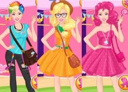 Barbie My Little Pony Fanı