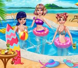 Barbie Ve Dostlarının Havuz Keyfi