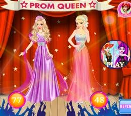 Barbie Ve Elsa Balonun Kraliçesi