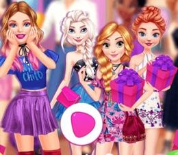 Barbie'ye Sürpriz Doğum Günü Partisi