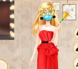 Barbie Yılbaşı Partisinde