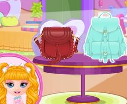 Bebek Barbie'nin Disney Çantası