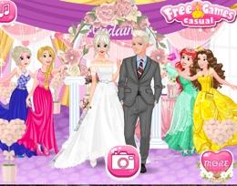 Buz Kraliçesi Evleniyor