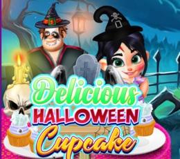 Cadılar Bayramı Cupcake