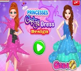 Çılgın Elbise Tasarımım