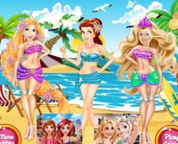 Disney Güzelleri Plajda