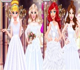 Disney Prenseslerin Gelinlikleri