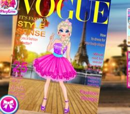Elsa Dergi Kapağında