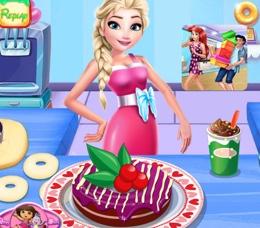 Elsa'nın Donut Süslemesi