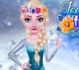 Elsa'nın Frozen Çiçek Tacı