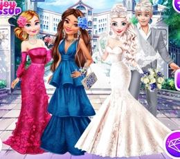 Elsa'nın Harikalar Ülkesinde Evleniyor
