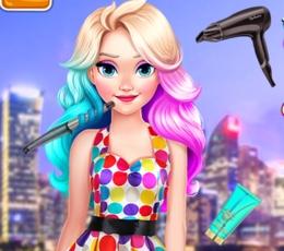 Elsa'nın İnatçı Ve Renkli Saçları