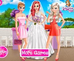 Elsa Ve Anna Ariel'in Düğününde