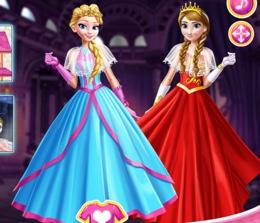 Elsa Ve Anna Balo Şıklığı
