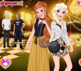 Elsa Ve Anna'nın Buluşma Hazırlığı