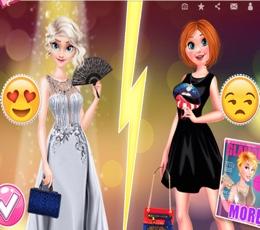 Elsa Ve Anna'nın Stil Yarışı
