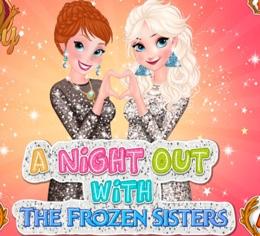 Elsa Ve Annanın Kızlar Gecesi