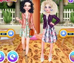 Elsa Ve Pamuk Prenses Like Yarışı