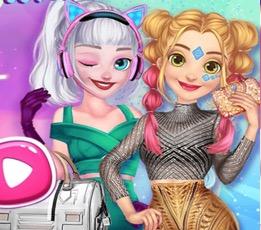 Elsa Ve Rapunzel'in Gelecekteki Stili
