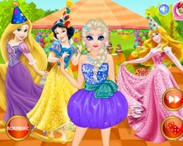Elsa'ya Sürpriz Parti