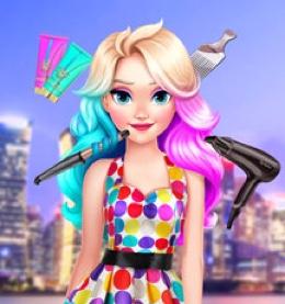Elsanın Neon Saçları