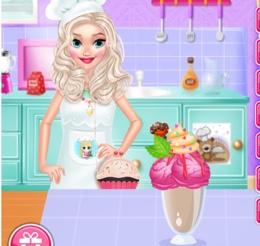 Ev Yapımı Süslü Dondurma