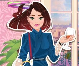 Fransız Kızın Çılgın Saçları