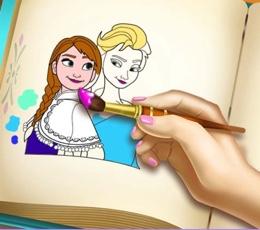 Frozen Boyama Kitabı