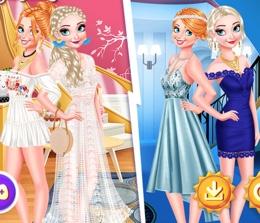 Frozen Kızlarının Gece Ve Gündüz Partisi