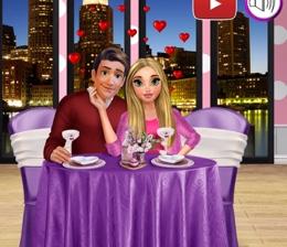 Genç Çiftin Romantik Akşam Yemeği