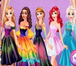 Gökkuşağı Prensesler
