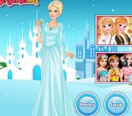 Güzel Buz Kraliçesi