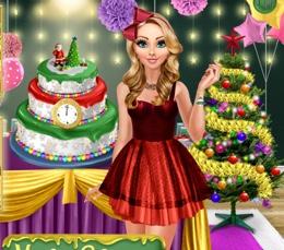 Güzel Sarışının Yeni Yıl Pastası