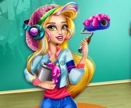 Gwen İle Kolej Odasını Temizle