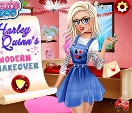 Harley Quinn Modern Makyajı