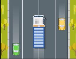 Hızlı Kamyon Trafikte